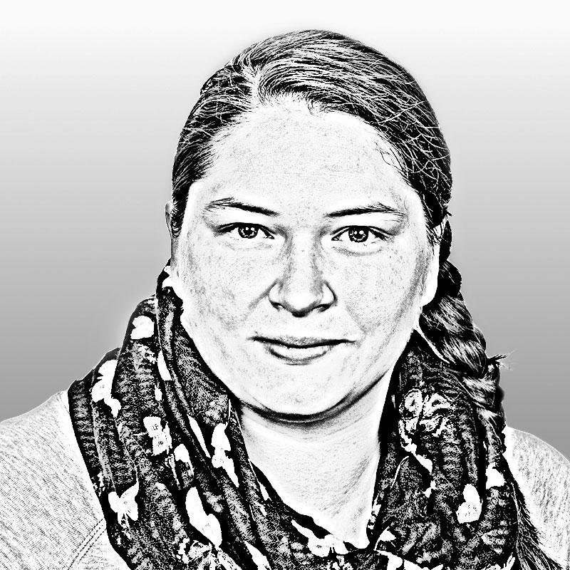 Mitarbeiterin Sandra Fuchs